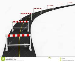 Obstacle Obstacle Path Stock Images Image 28169124