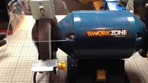 workzone grinder and belt sander youtube