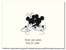 mickey and minnie wedding mickey and minnie with castle and with hearts holding