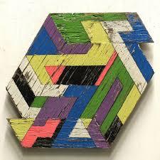 geometric wood sculpture geometric wooden sculptures by aaron design milk