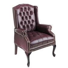 Pictures Of Queen Anne Chairs by Office Star Traditional Queen Anne Style Chair Mahogany