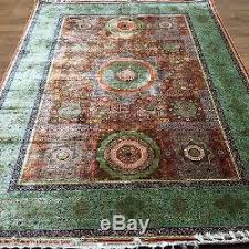 Green Persian Rug New 5 5 U0027x8 U0027 Medium Victorian Green Persian Handmade Carpet Hand