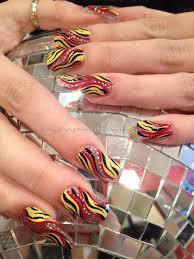 yellow and black nail art best nail 2017 nail art designs in