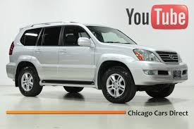 lexus gx extended warranty chicago cars direct presents 2007 lexus gx470 4wd titanium