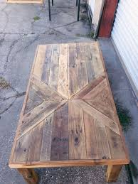 reclaimed barn wood chevron coffee table by triple7recycled on