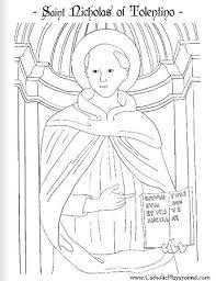 saint michael archangel catholic coloring feast