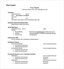 exle of resume for college application extracurricular activities resume template resume extracurricular