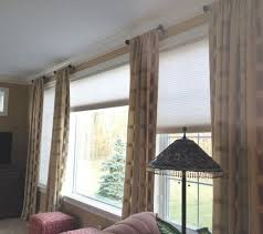 Curtains For Large Picture Window 25 Best Short Curtain Rods Ideas On Pinterest Round Dining Room