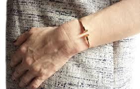 tiffany ring bracelet images Tiffany t 18k rose gold bracelet bangle sz small fits up to 5 75 jpg