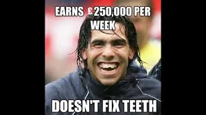 Fix It Meme - earns 250000 per week doesnt fix teeth football meme picsmine