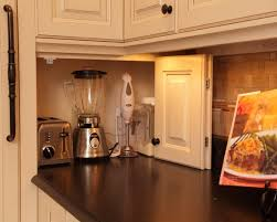 kitchen appliance storage ideas yes hideaway for appliances keeps them handy but