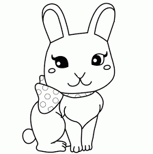 how to draw a cute bunny pencil art drawing