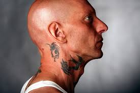 mens tattoos neck tattoos for