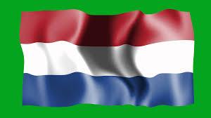 holland waving flag green screen animation youtube