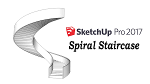 Spiral Staircase by Sketchup Tutorial How To Make A Spiral Staircase Youtube