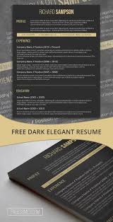 Elegant Resume Sample by 68 Best Free Resume Templates For Word Images On Pinterest