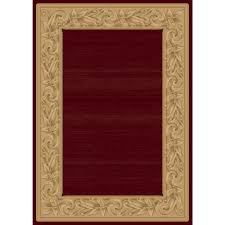 Rugs In Home Depot Balta Us Elegant Embrace Red 5 Ft 3 In X 7 Ft 5 In Area Rug