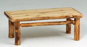 Natural Wood Coffee Tables Log Coffee Table Rustic Furniture Lodge Coffee Natural