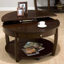 coffee table narrow coffee table with storage intended for nice