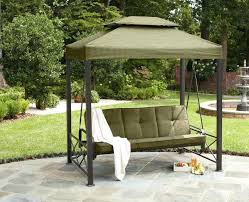 outdoor glider with canopy image of patio swing with canopy
