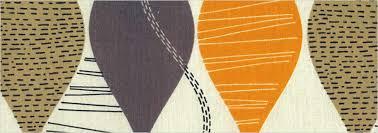Orange And Beige Curtains Funky Brown Beige Amber U0026 Vibrant Orange Retro Patterned Curtains