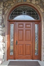 wood glass front doors green wood glass front home door with wrought iron musical theme