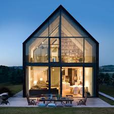 Modern Small House Designs 25 Best Glass Houses Ideas On Pinterest Glass House Open