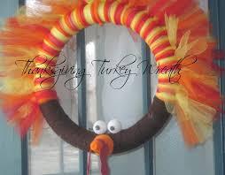 diy thanksgiving turkey wreath