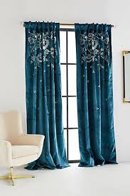 Green And Blue Curtains Green New Curtain Styles 2018 Designer Curtains Anthropologie