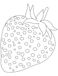 strawberry fruit coloring pages download free strawberry fruit