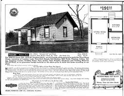 What Is A Bungalow House Plan by Sears Homes 1915 1920