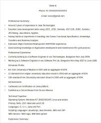 Resume Templates For Experienced It Professionals Resume In Word Template 19 Free Word Pdf Documents Download