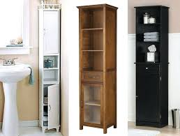 Shelving Units For Bathrooms Narrow Bathroom Cabinet Dynamicpeople Club