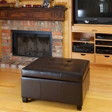 Black Ottoman Storage Bench by Ottomans Leather Footstool Walmart Storage Bench Or Ottoman