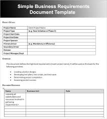 template business requirements document 11 business requirements