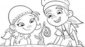 disney junior jake neverland pirates coloring pages 2017