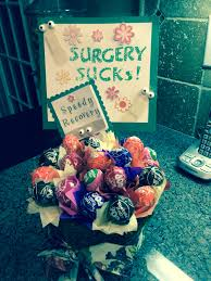 happy pills for an after surgery gift food candy desert