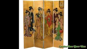 asian screen room divider youtube