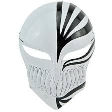 Cool Mask Amazon Com Bleach Kurosaki Ichigo Mask Black Cool Clothing