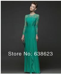 emerald green evening gowns with sleeves evening dresses dressesss