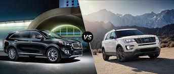 2017 kia sorento vs 2017 ford explorer
