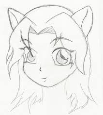 easy anime drawing for beginners drawing sketch picture