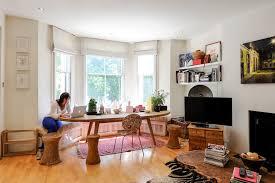Bay Window Seating Diy Dining Room Traditional With Wood Dining - Dining room with bay window