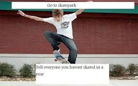 poser skater meme