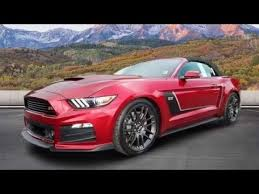 ford mustang supercharged 2017 roush stage 3 ford mustang supercharged 670hp review