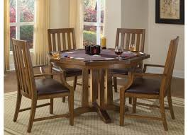 home styles arts and crafts 5 piece oak game table set 5900 318