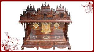 shilpi handcrafted wall mounted temple and wall shelf in sheesham stunning wooden pooja mandir designs for home pictures interior