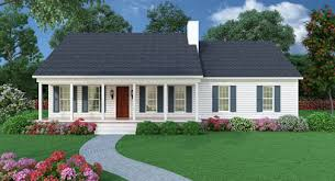Small House Plans With Porch Small House With Ranch Style Porch Sutherlin Small Ranch House