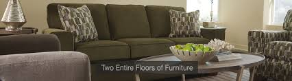 Klaussner Vaughn Sofa Rockford Furniture Store Benson Stone Huge 4 Story Showroom