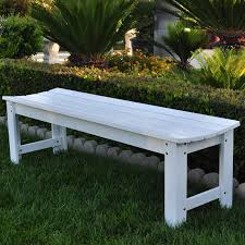 Front Porch Bench Coral Coast 3 Ft Outdoor Wood Backless Bench Dark Brown Hayneedle